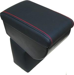Adjustable armrest for Nissan Juke (2010-2019) with colored stitching