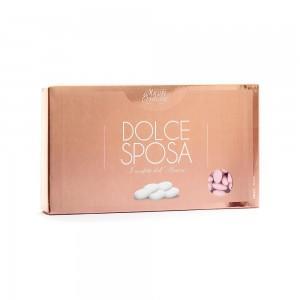 Confetti mandorla rosa 1 kg Dolce Sposa