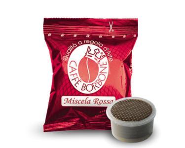 Caffè Borbone Miscela Rossa Capsule compatibili Lavazza Espresso Point