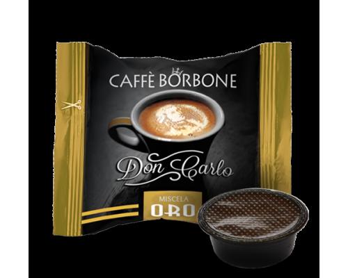 Caffè Borbone Don Carlo Miscela Oro Capsule compatibili Lavazza a modo mio
