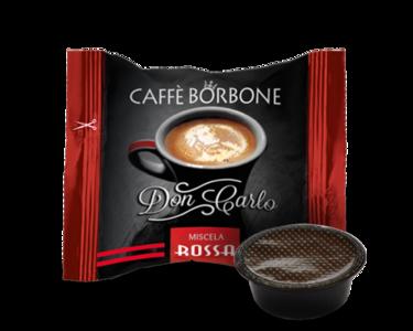 Caffè Borbone Don Carlo Miscela Rossa Capsule compatibili Lavazza a modo mio