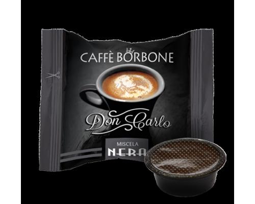 Caffè Borbone Don Carlo Miscela Nera Capsule compatibili Lavazza a modo mio