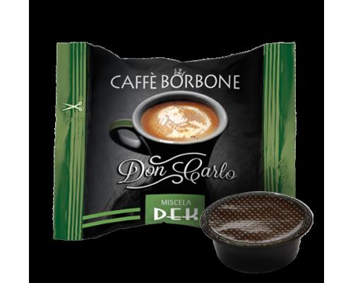 Caffè Borbone Don Carlo Decaffeinato Capsule compatibili Lavazza a modo mio