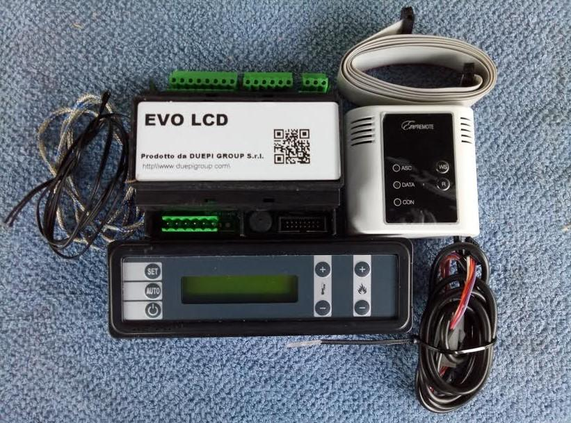 KIT COMPLETO DUEPI GROUP EVO LCD + MODULO WIFI
