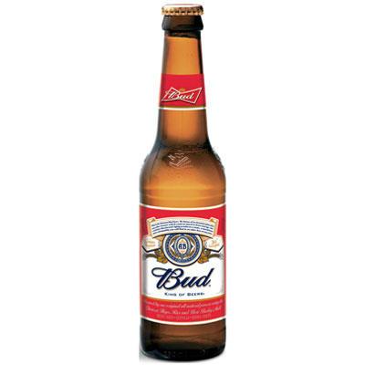 Birra Bud 0,33lt x 24 bott.