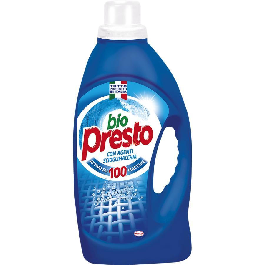 Bio Presto - Detersivo Lavatrice liquido 23 mis.classico