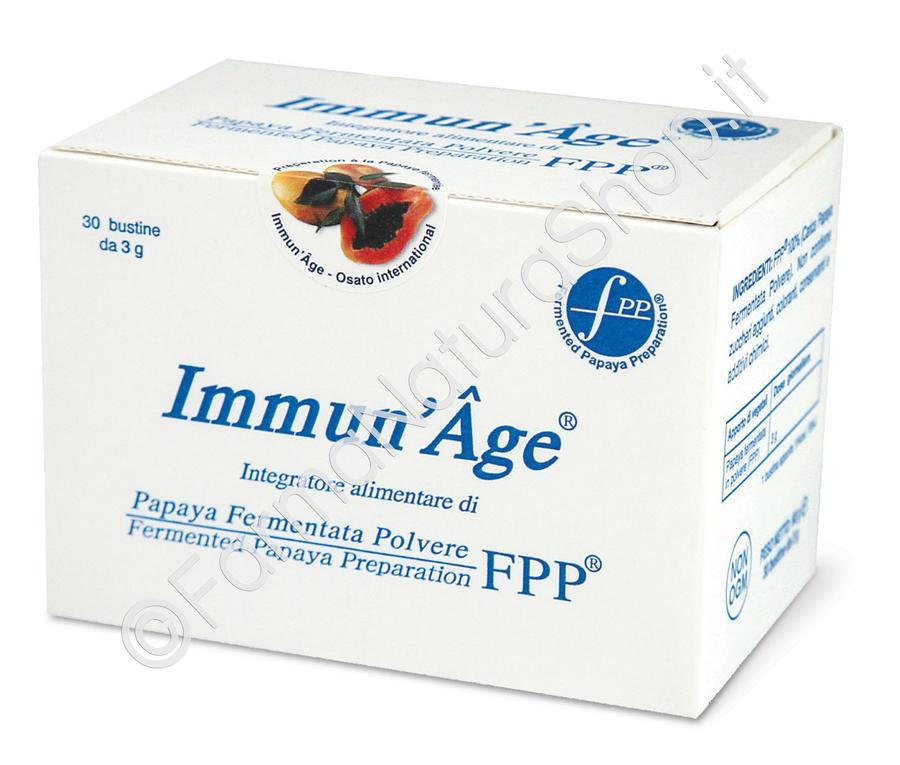 IMMUN'AGE® CLASSICO 30 bustine da 3 g - Papaya Fermentata