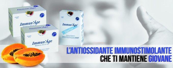 IMMUN'AGE® CLASSICO 60 bustine da 3 g - Papaya Fermentata