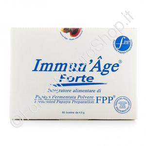 IMMUN'AGE® FORTE 60 bustine da 4,5 g - Papaya Fermentata