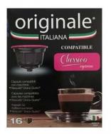 Originale Italiana Decaffeinato Capsule compatibili Nescafè Dolce Gusto
