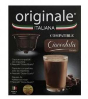 Originale Italiana Cioccolata Capsule compatibili Nescafè Dolce Gusto