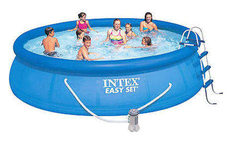 Piscina gonfiabile INTEX EASY 457 x 122 cm autoportante filtro e scala INTEX 28168