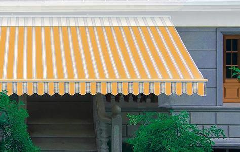 Tenda da sole da muro 400x250 poliestere 300 gr resinato telaio alluminio  TEN75 sottocosto