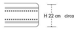 Materasso Molle Boxate Mod. Afrodite - da cm. 120x190/195/200 ErgoRelax