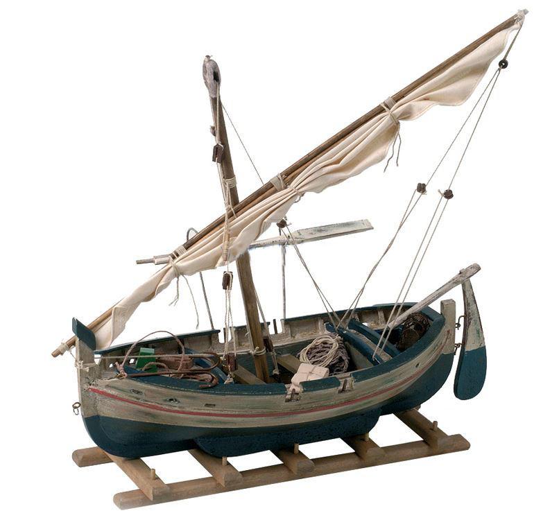 Modello di Barca da Pesca Laud in Legno di Artesania Esteban - Mondo Nautica 24