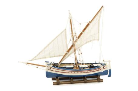 Modello di Barca da Pesca Leudo in Legno di Artesania Esteban - Mondo Nautica 24