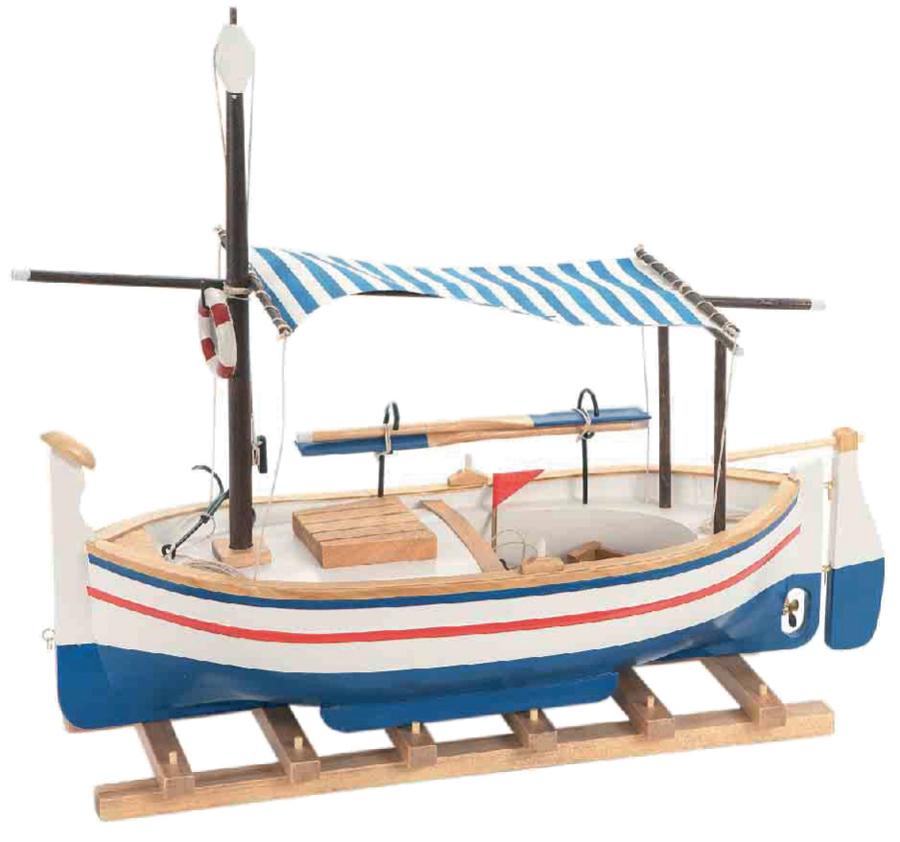 Modello di Barca da Pesca in Legno di Artesania Esteban - Mondo Nautica 24