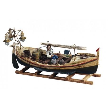 Modello di Lampara Barca da Pesca in Legno di Artesania Esteban - Mondo Nautica 24