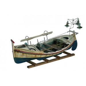 Modello di Lampara da Pesca in Legno di Artesania Esteban - Mondo Nautica 24