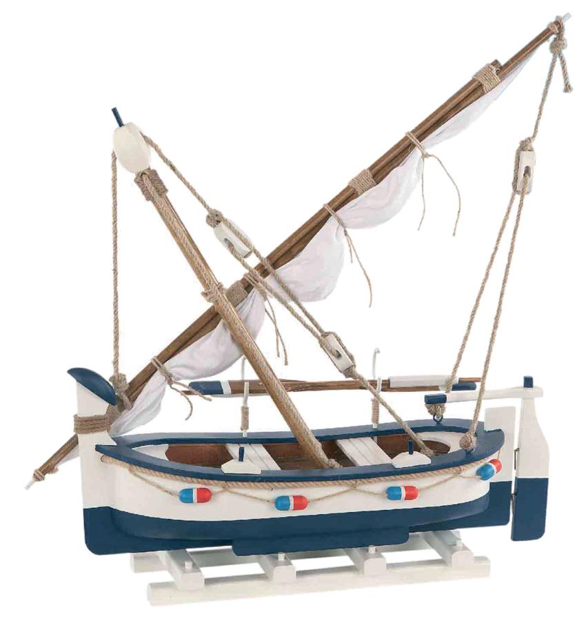 Modello di Barca a Vela da Pesca in Legno di Artesania Esteban - Mondo Nautica 24