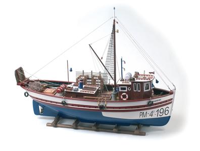 """Modello del Peschereccio """" Marivent """" in Legno di Artesania Esteban - Mondo Nautica 24"""
