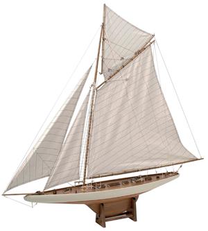 """Modello del Veliero """"Columbia"""" in Legno di Artesania Esteban - Mondo Nautica 24"""