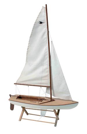 Modello di Deriva a Vela in Legno di Artesania Esteban - Mondo Nautica 24