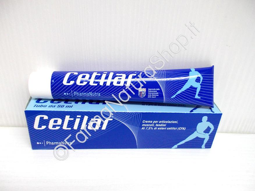 CETILAR® Crema per articolazioni, muscoli, tendini