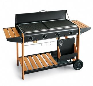 Barbecue a gas Modello 2008 BST x GAS e Metano VANCOUVER 2008 POTENZA 12,8 KW MADE IN ITALY BST
