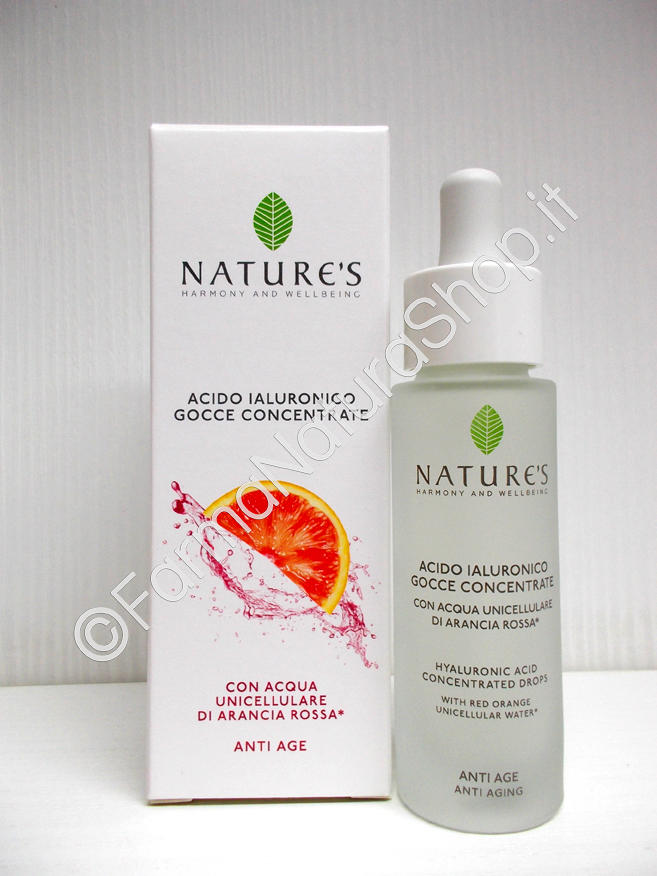 NATURE'S Acido Ialuronico Gocce Concentrate
