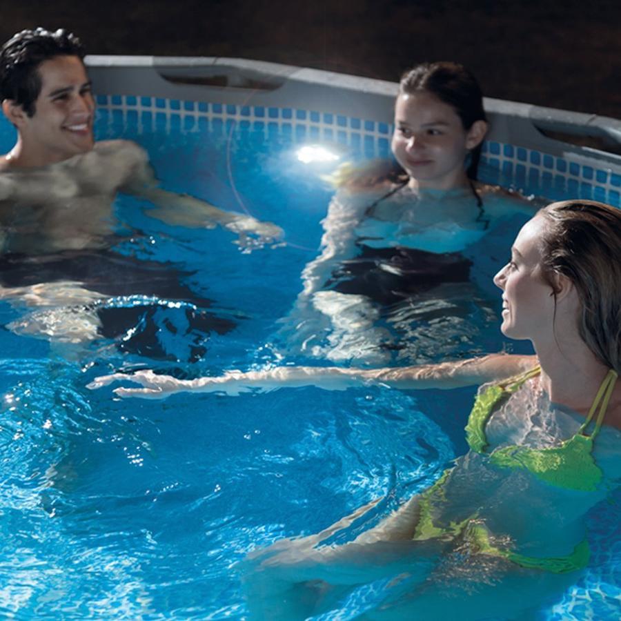 Luce led idroelettrica INTEX 28691 per piscina 32 mm 0.8 W INTEX 28691 senza corrente e batterie