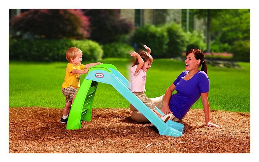 Scivolo da giardino Gioco Little Tikes Primo scivolo blu 9017243 cm 120