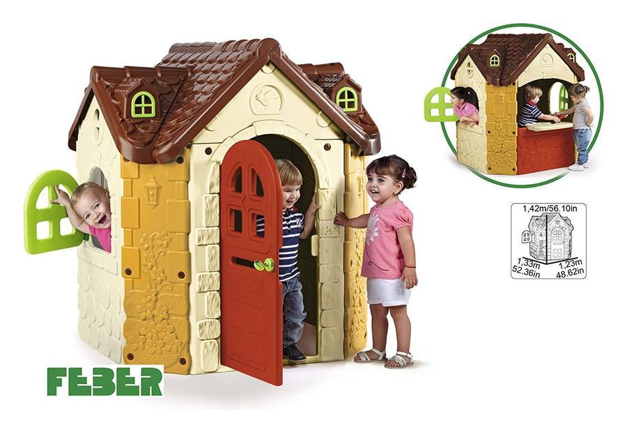 Casetta da giardino da gioco MARIA FANCY HOUSE 800010962  spaziosa con porta a chiave girevole e finestre apribili -