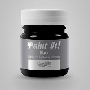 Colorante per pittura alimentare nero Rainbowdust