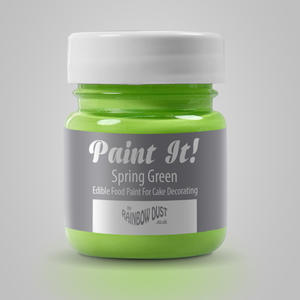 colorante per pittura alimentare verde estate Rainbowdust