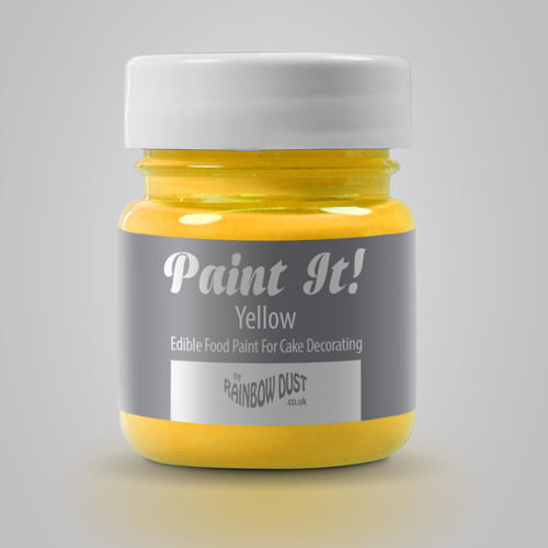 colorante per pittura alimentare giallo  Rainbowdust