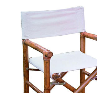 Tela ricambio per sedie regista bambu CHB 02