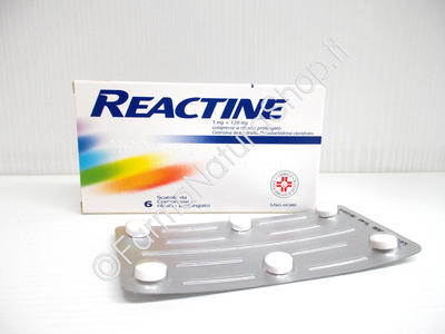 REACTINE 5 mg + 120 mg Compresse