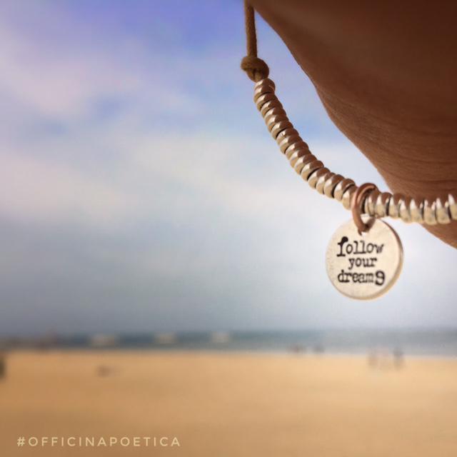 """bracciale """"FOLLOW YOUR DREAMS"""""""