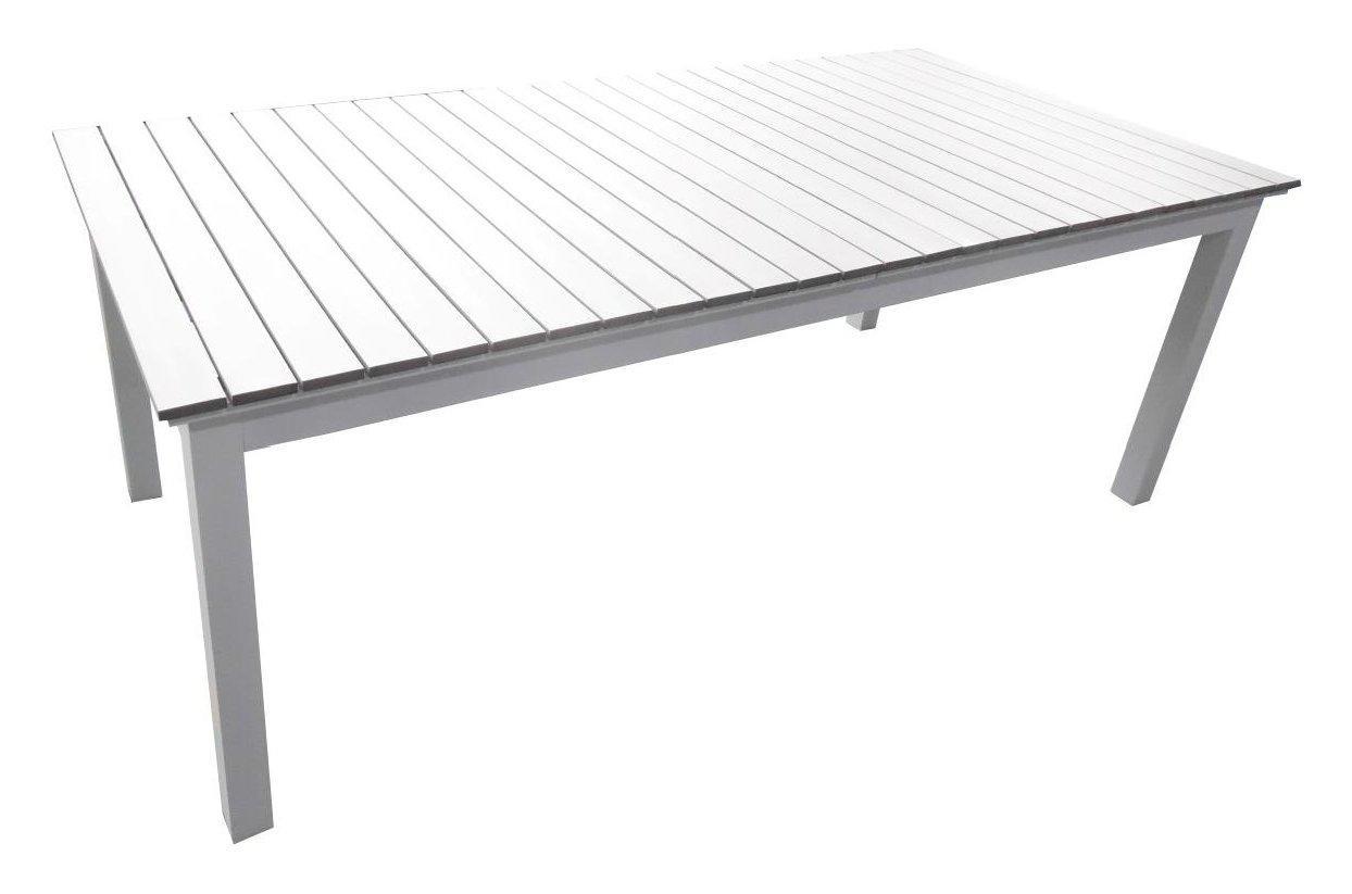 Set terry tavolo antracite grigio cm 156 212x90 con 6 poltrone for Set giardino esterno