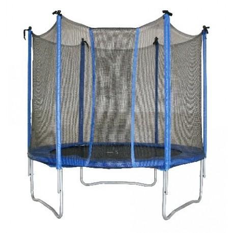 Tappeto elastico da giardino per bambini GLOBO 36856 con rete misura 183x200 Giochi prima infanzia