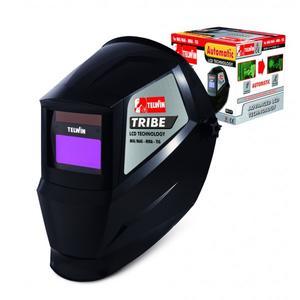Maschera a casco per saldatura autoscurante Telwin TRIBE  lcd oscurante elettronica