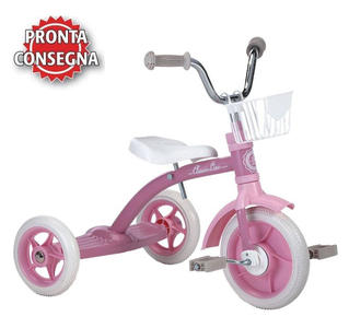 "Triciclo per Bambini ""Super Lucy Pink"" di Italtrike - Made in Italy"