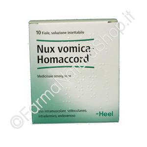HEEL NUX VOMICA HOMACCORD Fiale