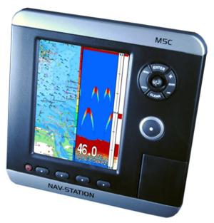 GPS Multifunzione M5C Nav-Station con Trasduttore di Poppa - Offerta di Mondo Nautica  24