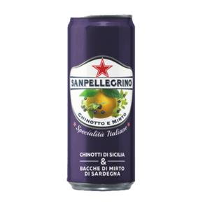 Chinotto & Mirto San Pellegrino lattine 33cl x 24