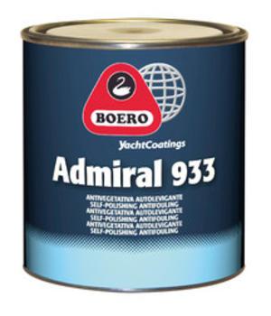 Antivegetativa Admiral 933 Rosso LT. 0.750 di Boero - Offerta di Mondo Nautica 24