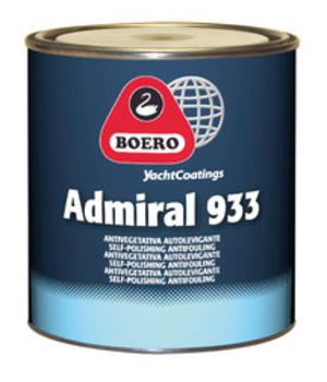 Antivegetativa Admiral 933 Blu Scuro LT. 5 di Boero - Offerta di Mondo Nautica 24