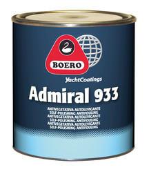Antivegetativa Admiral 933 Nero LT. 5 di Boero - Offerta di Mondo Nautica 24