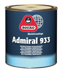 Antivegetativa Admiral 933 Blu Chiaro LT. 5 di Boero - Offerta di Mondo Nautica 24